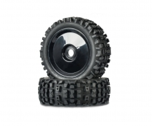 1:8 Buggy Tyre Set Big Spike 1 black (2)