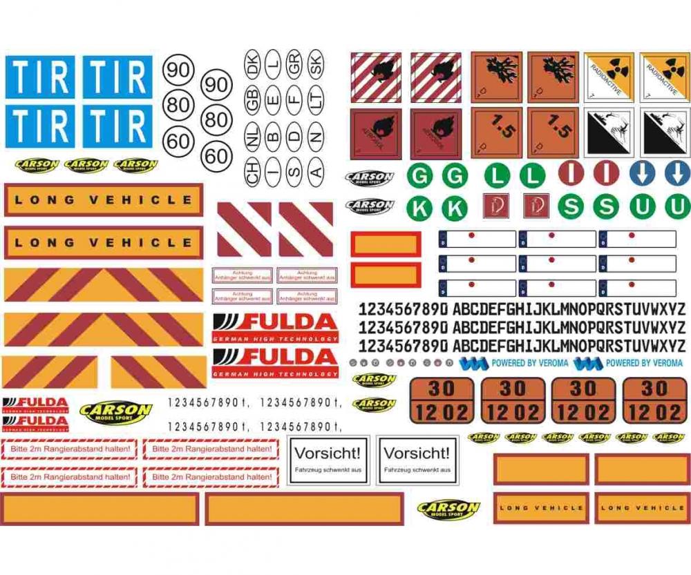 rc trucks under 100 html with 1 14 Sticker Sheet Truck Caution Signs 500907086 En on Ball Joints Cy 2 Chassis 500205471 En besides 1 24 Peterbilt 378 Long Hauler 510003857 En as well 1 14 Sticker Sheet Truck Caution Signs 500907086 En additionally 1 72 Wwii Us Infantry Winter Uniform 510006133 En further Led Light Set F Tamiya Dt03tt02b 500906235 En.