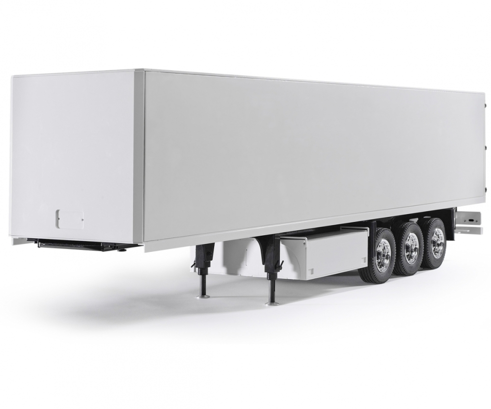 1:14 3-Axle Semi-Trailer Ver II white - Truck / Trailers