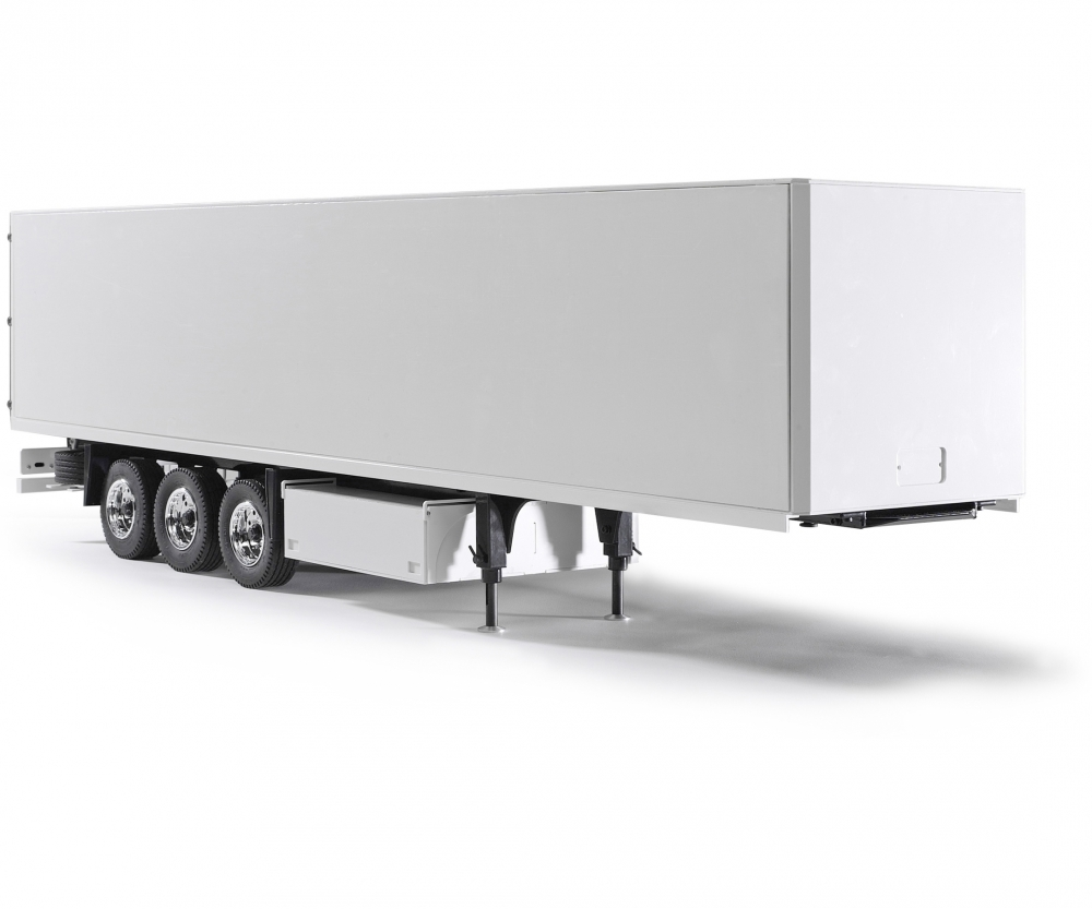 1:14 3-Axle Semi-Trailer Ver II white - Truck / Trailers