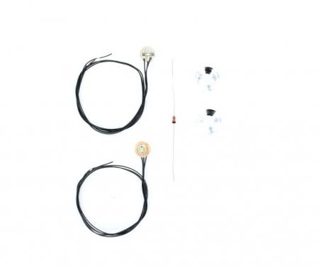1:14 7,2/12V Angle Eyes blue SMD LED PCB
