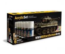 Acryl Set WWII Military German Army