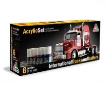 Acryl Set International Trucks &Trailers