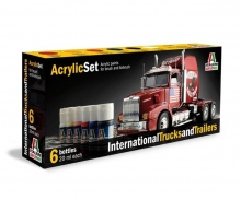 Acryl Set International Trucks &Trailers