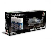 Acrylic Set WWII U.S. Navy Aircraft