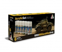 Acrylic Set WWII Military Allied Army