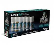Acryl Set World of Warships Camouflage