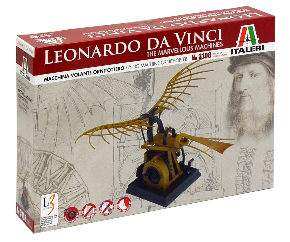 rtr rc boats with Italeri Leonardo Da Vinci Flying Machine Ornithopter 510003108 En on 371144 likewise Item also P404910 in addition Hurricane 900 Ve Brushless Rtr P7662 as well Ceg9519 Colossus Xt Mega Monster Truck.