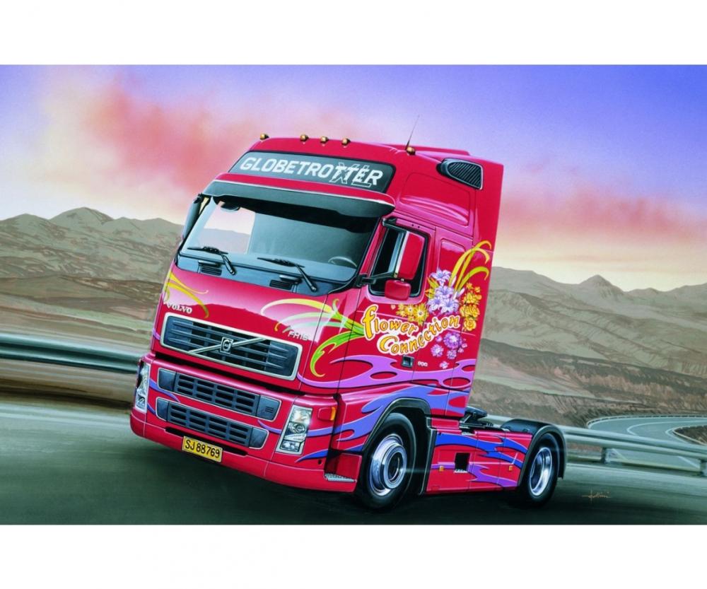 1 24 volvo fh16 globetrotter xl trucks auflieger zubeh r. Black Bedroom Furniture Sets. Home Design Ideas