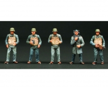 1:35 Figuren-Set Schnellboot Crew (10)