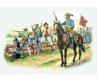 """1:72 Confederate Troops """"The Grays"""""""
