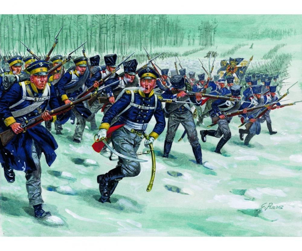 1 72 napoleonic wars prussian infantry history figures 1 72 1 35