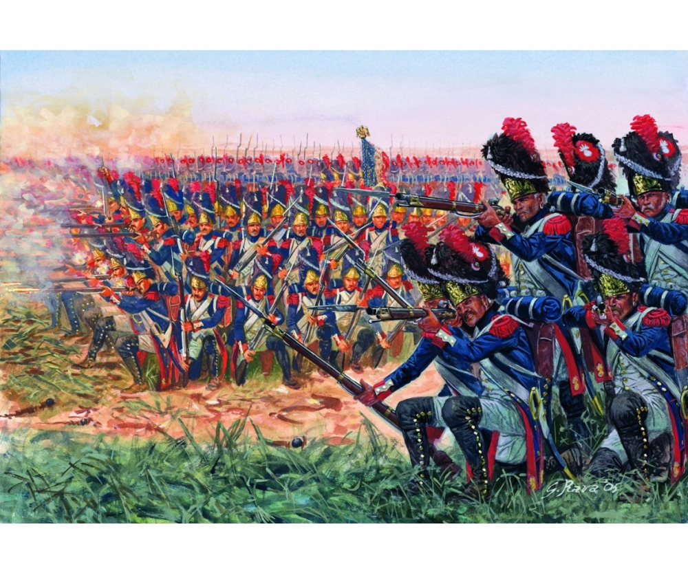 1 72 napoleonic wars french grenadiers history figures 1 72 1 35