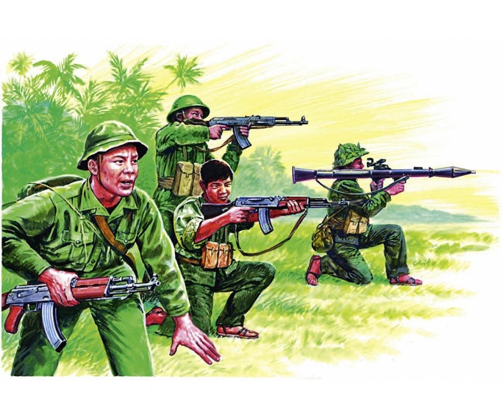 1:72 Vietnam War - Vietn  Army/Vietcong