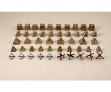 1:72 Antitank obstacles