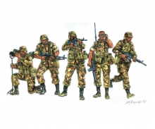 1:72 IT Modern US Soldiers