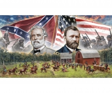 1:72 American Civil War:Farmhouse battle