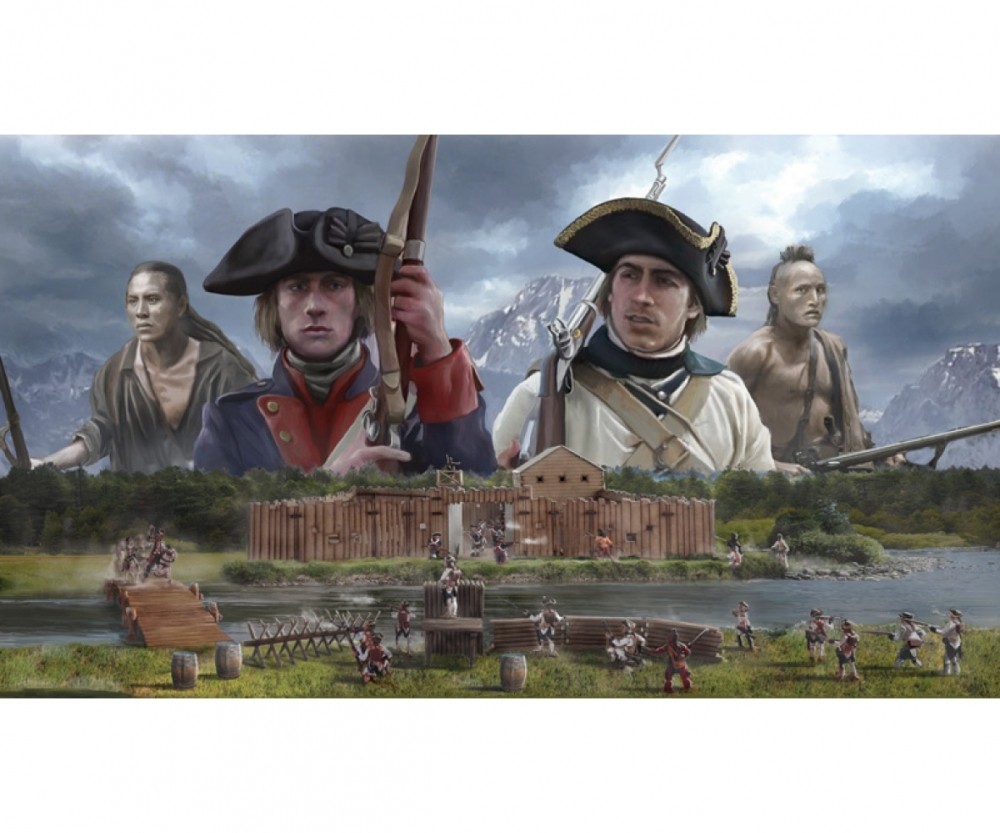 1:72 French and Indian War 1754-1763 - History Figures 1:72/1:35/1