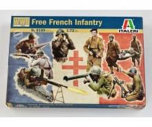 1:72 French Infantry (WW II)