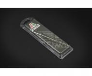 Fine serrated locking tweezers - 160mm
