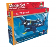 ITALERI F4U-5N Corsair Model Set