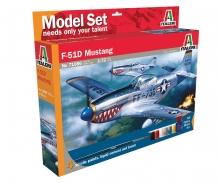 ITALERI P-51D Mustang Model Set