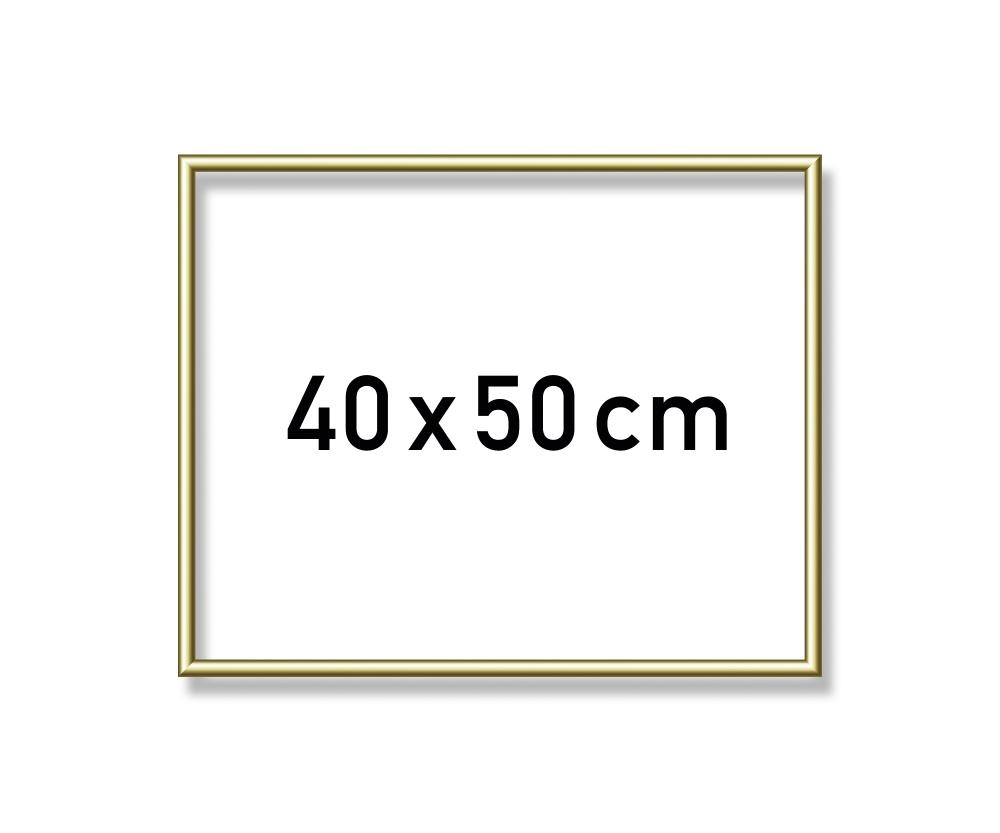 Aluminium frame 40 x 50 cm - Picture frames made of aluminium ...