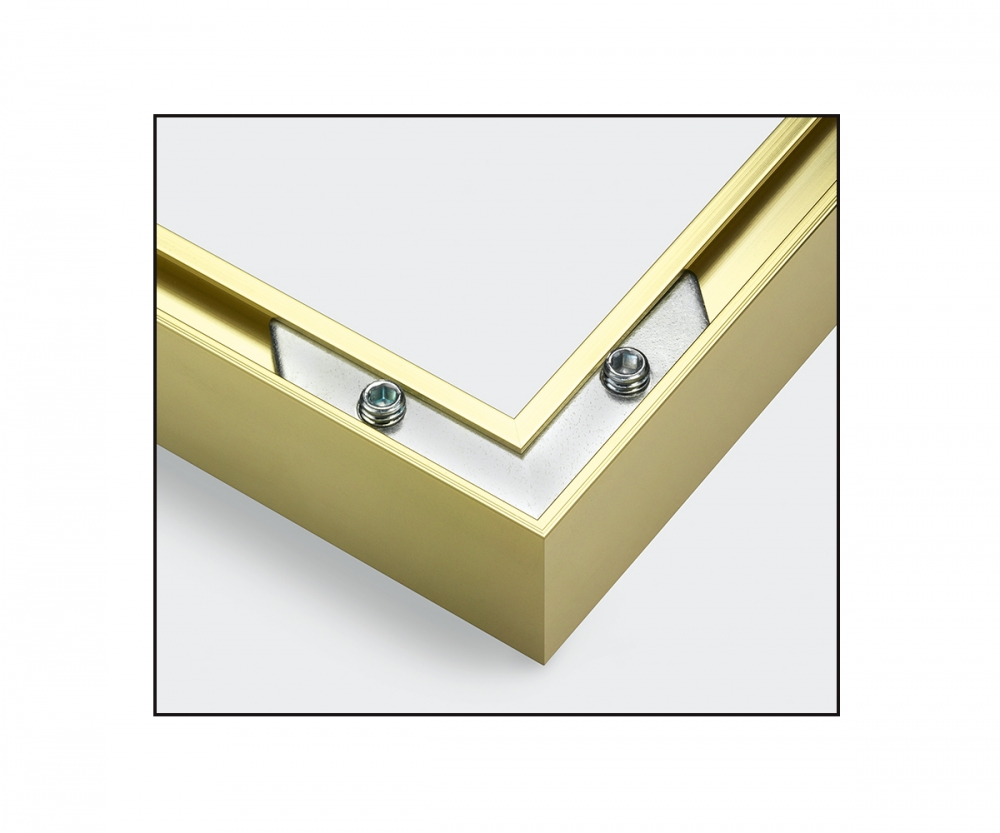 Aluminium frame 40 x 50 cm - Picture frames made of aluminium ...