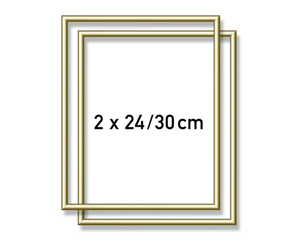 2 Alurahmen 24 x 30 cm - Aluminium-Bilderrahmen - Zubehör - shop ...