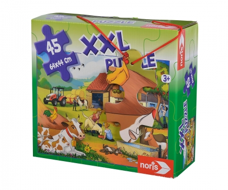 Big-sized jigsaw puzzle On a farm