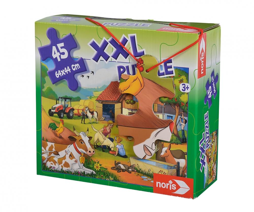 xxl puzzle urlaub auf dem bauernhof puzzles. Black Bedroom Furniture Sets. Home Design Ideas
