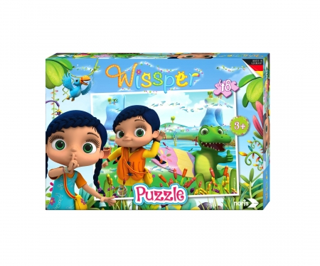 "Wissper - Puzzle 48pcs.""Water World"""