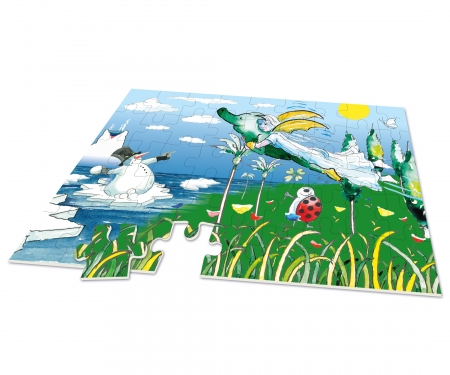 Tabaluga big-sized jigsaw puzzle