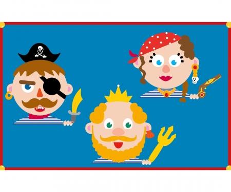 Magnetspiel - Piraten in Sicht!