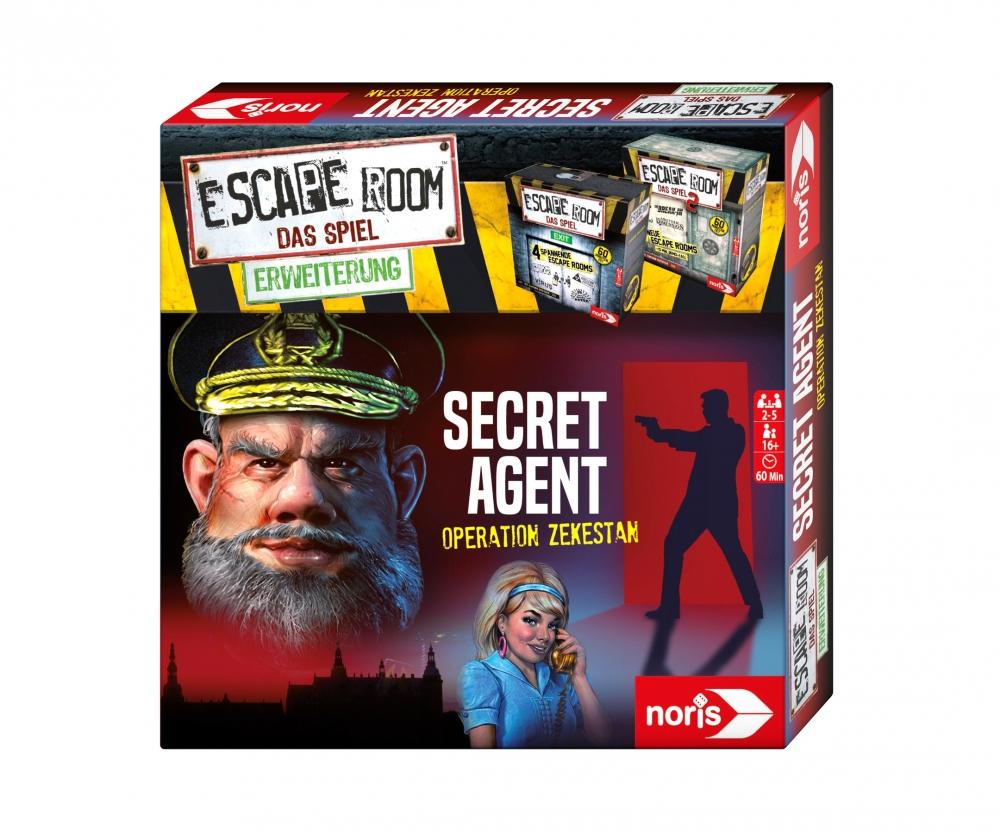 9871e1bc8035b Escape Room Secret Agent - Escape Room - Games - shop.noris-spiele.de