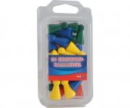 24 Plastic Halmastones 24mm