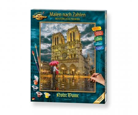 """The Cathedral """"Notre-Dame de Paris"""""""