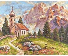 MNZ - Petite église dans les Dolomites