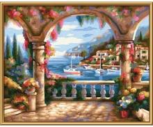 A villa by the sea