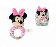 Disney Minnie Ring Rattle with Plush