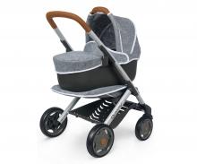 Quinny 3in1 Multifunktions-Puppenwagen Grau