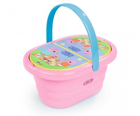 Peppa picnic basket