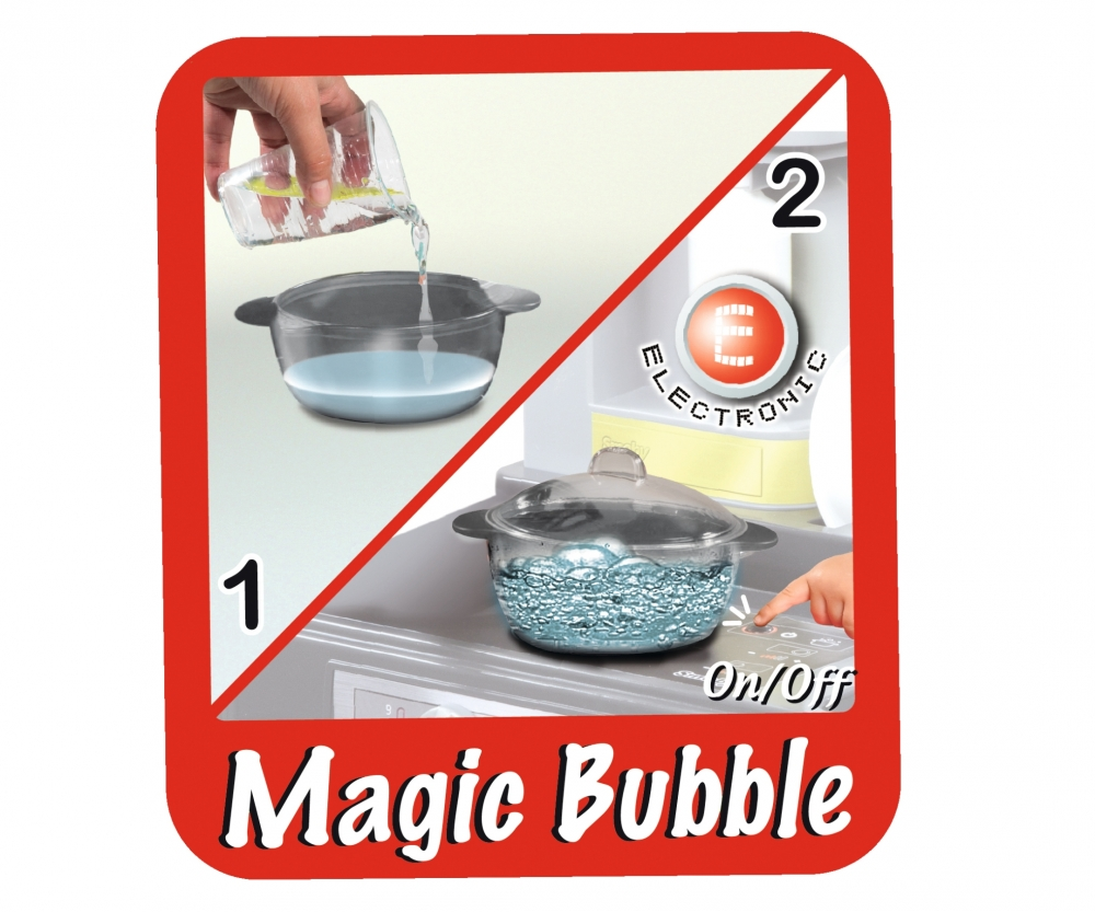 tefal studio bubble kitchen - kitchen & accessories - role play ... - Smoby Tefal Studio Küche