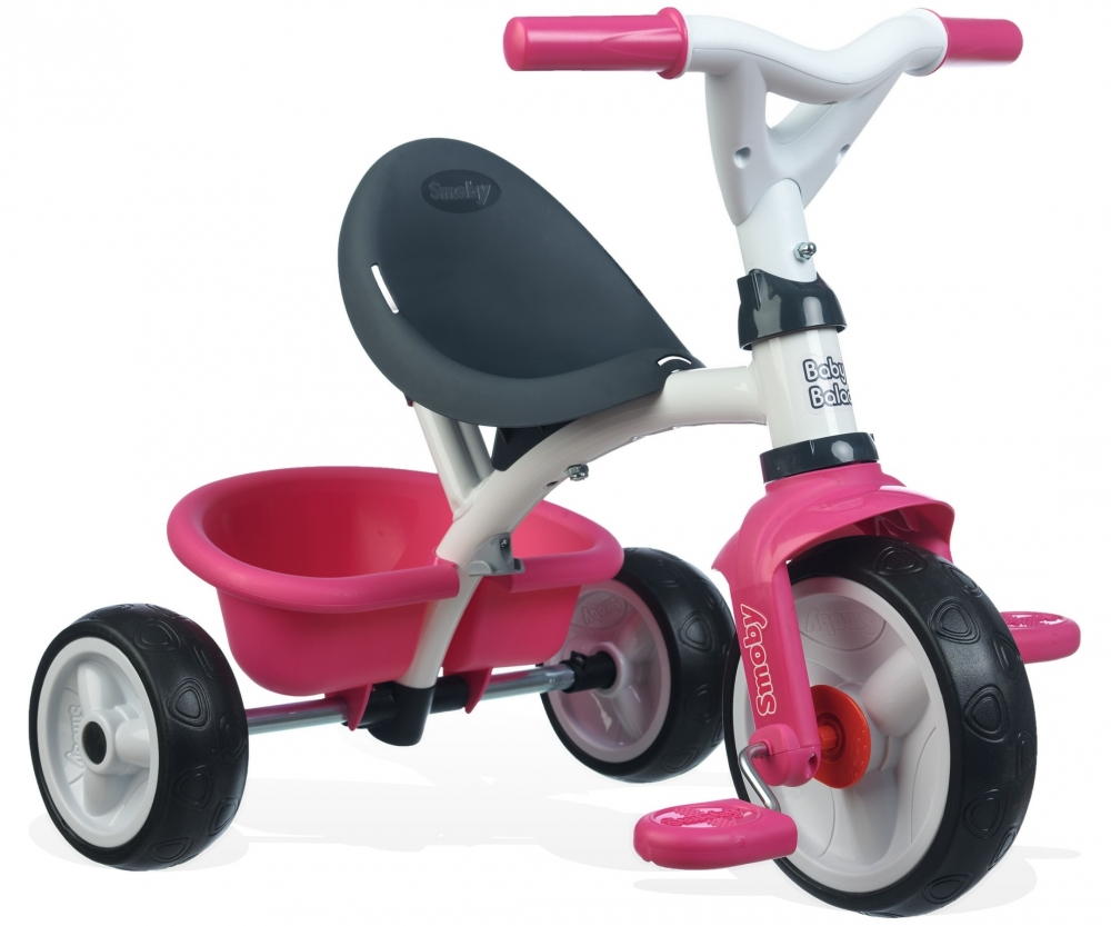 tricycle baby balade pink tricycles vehicles shop. Black Bedroom Furniture Sets. Home Design Ideas