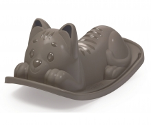 Cat See-saw, grey