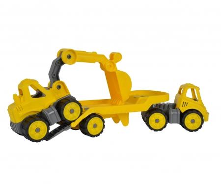BIG-Power-Worker Mini Transporter + Digger