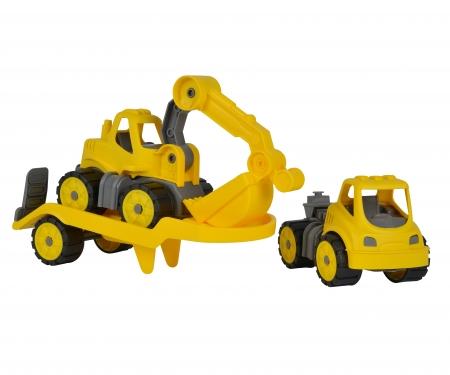 BIG-Power-Worker Mini Transporter + Bagger