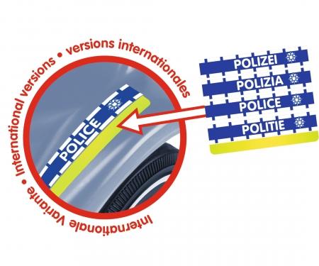 BIG-Bobby-Car-Classic Polizei + Sound