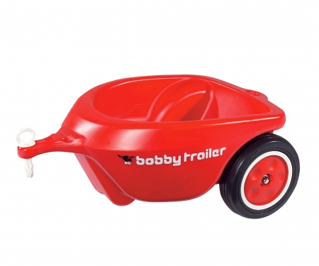 BIG-New-Bobby-Car-Trailer Red
