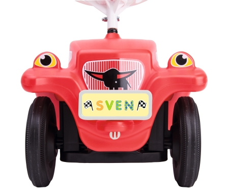 BIG-Bobby-Car Mein Nummernschild